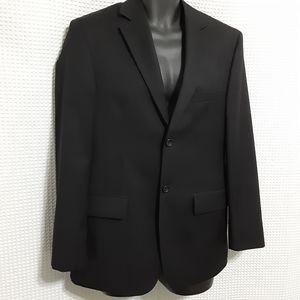Pronto Uomo Black Suit Sport Coat 36R
